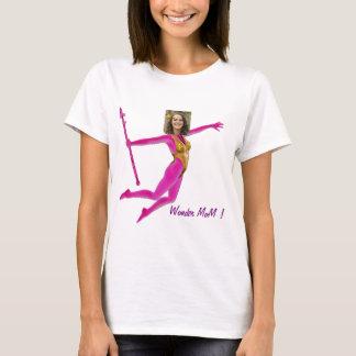 Princess Fairy Wand, Pink Fushia - with YOUR Pho Camiseta