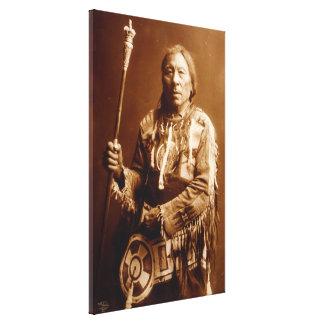 Principal arte Blackfoot de la lona de