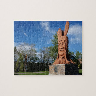 Principal parque de Murray de la estatua de Puzzle