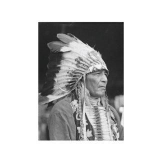 Principal Philip Howard, indio del nativo american Impresión En Lienzo Estirada