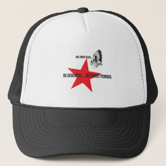 principales peniques de la cuenta de la estrella gorra de camionero