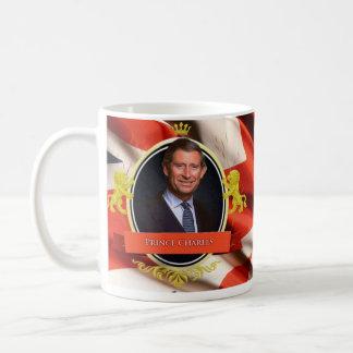 Príncipe Charles Historical Mug Taza De Café