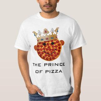 Príncipe de la pizza camisetas
