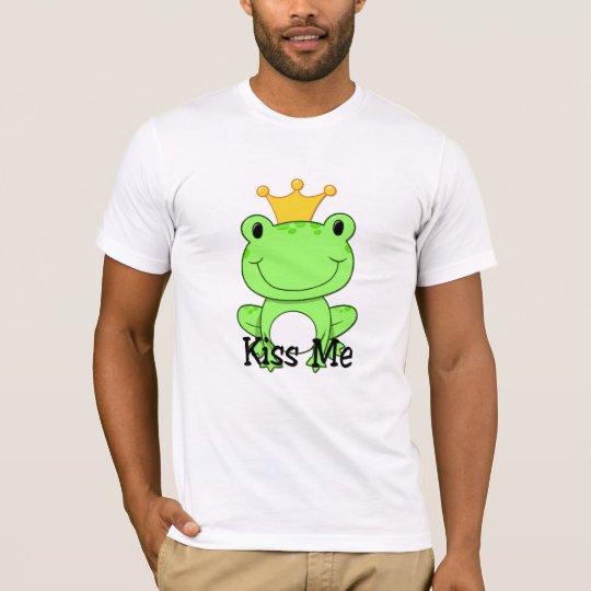 Príncipe de la rana - béseme camiseta