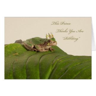 Príncipe de la rana, propuesta de matrimonio felicitaciones