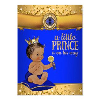 Príncipe étnico fiesta de bienvenida al bebé del invitación 11,4 x 15,8 cm