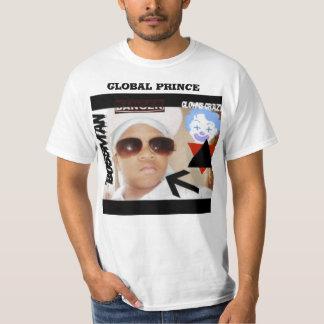 Príncipe global camiseta