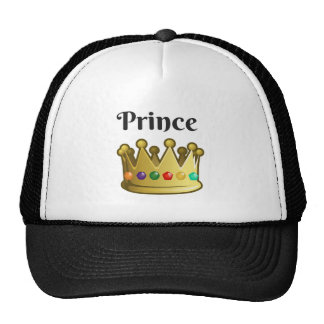 Príncipe Gorros Bordados