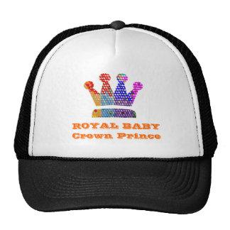 Príncipe heredero real gorras de camionero