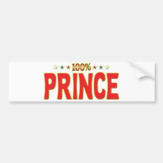 Príncipe Star Tag Pegatina Para Coche