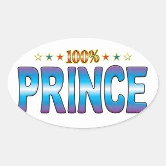Príncipe Star Tag v2 Colcomanias Oval