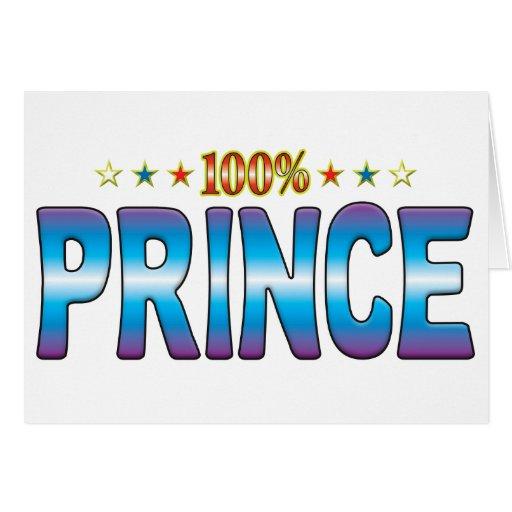 Príncipe Star Tag v2 Tarjeta