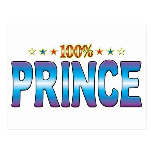 Príncipe Star Tag v2 Postales