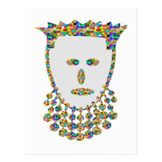 Príncipe tallado joya princesa ART por NAVIN Joshi Postal
