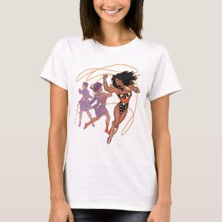 Príncipe Transformation de Diana de la Mujer Camiseta