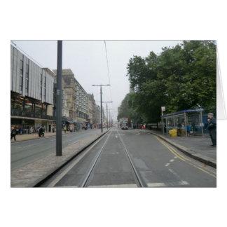 Príncipes Street septiembre de 2014 de Edimburgo Tarjeta De Felicitación
