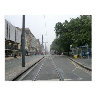 Príncipes Street septiembre de 2014 de Edimburgo Postal
