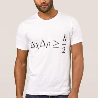 Principio de incertidumbre de Heisenberg 2 Camisetas