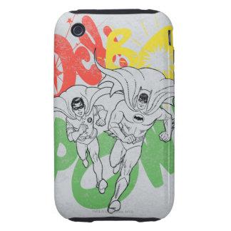 PRISIONERO DE GUERRA Batman del BAM del CALCETÍN y iPhone 3 Tough Protector