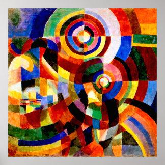 Prismas eléctricas de Sonia Delaunay Impresiones