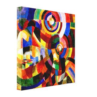 Prismas eléctricas por el arte abstracto de Sonia