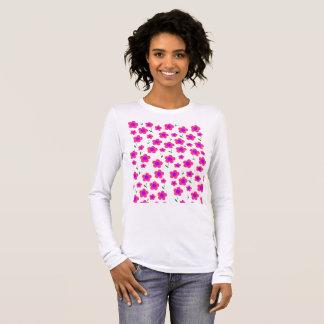 Pritty en rosa camiseta de manga larga
