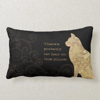 Probablemente pelo del gato en esta almohada