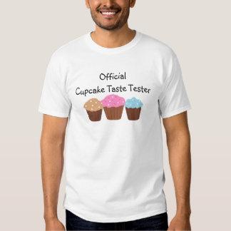 Probador oficial del gusto de la magdalena camiseta