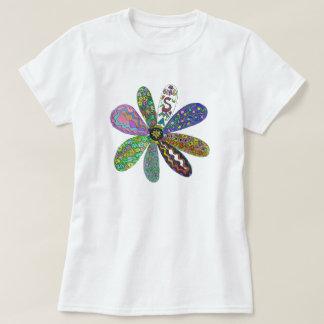 Problema del doble del flower power de la curación camiseta