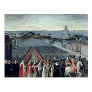 Procesión de la fraternidad del Saint-Michel Tarjetas Postales