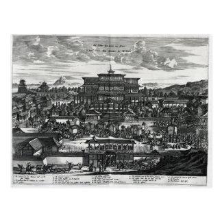 Procesión de Macao, un ejemplo Postal