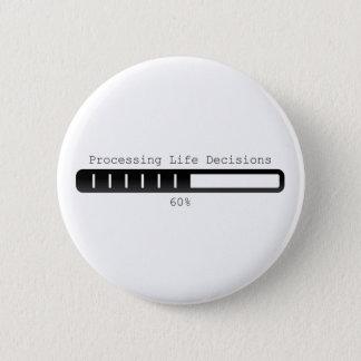 Proceso del botón de las decisiones de la vida