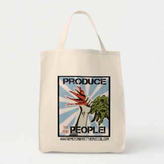 Producción al bolso de ultramarinos reutilizable d