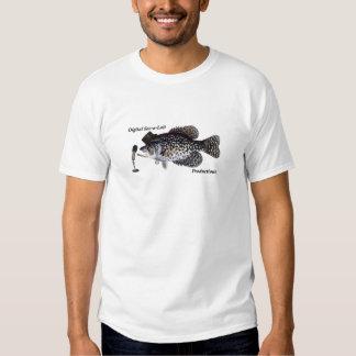 Producciones de Lait del saco-a' de Digitaces Camiseta