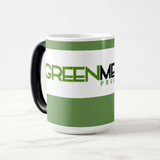 Producciones verdes de la melodía Morphing la taza