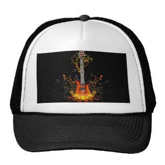 Producto de la imagen de la guitarra gorras de camionero