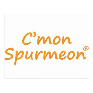 Producto de motivación de C mmon Spurmeon Postal