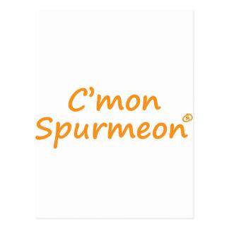 Producto de motivación de C'mmon Spurmeon Postal