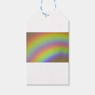 Producto del arco iris etiquetas para regalos