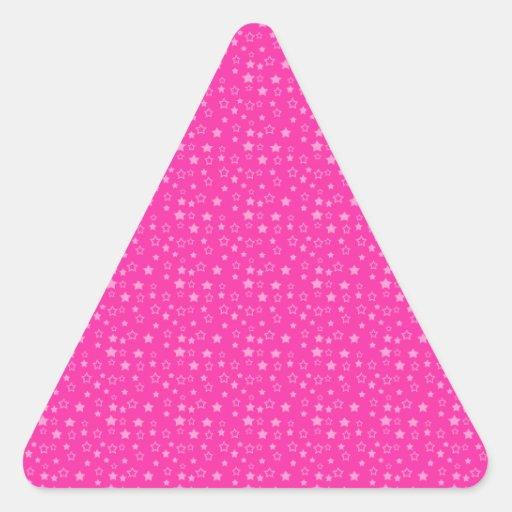 Producto del personalizar calcomanía triangulo personalizadas