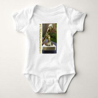 Productor de la camiseta del bebé del engranaje
