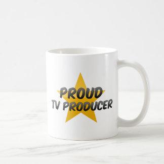 Productor de TV orgulloso Taza De Café