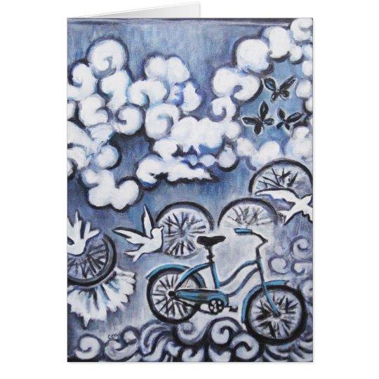 Productos caprichosos de la pintura de la tarjeta de felicitación