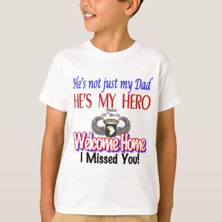 Productos caseros agradables del papá camiseta