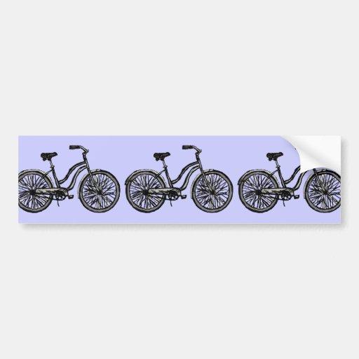 Productos clásicos de la bicicleta pegatina de parachoque