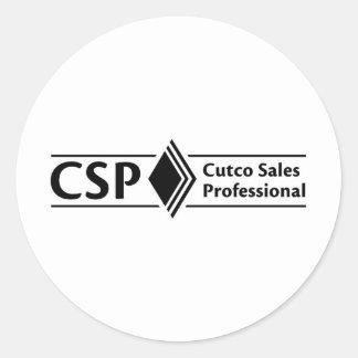 Productos de CSP Pegatina Redonda