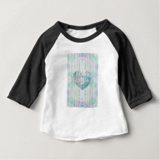 Productos de encargo multicolores del bebé del camiseta de bebé