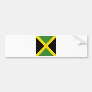 Productos de la bandera de Jamaica Pegatina Para Coche