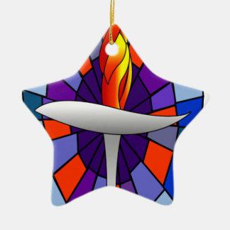 Productos de la cáliz del templo de la unidad adorno de navidad