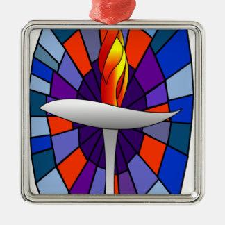 Productos de la cáliz del templo de la unidad ornamento para arbol de navidad